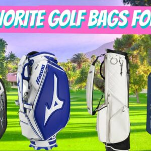 THE BEST GOLF BAGS FOR 2020 | OUR REVIEW OF THE TOP STAND BAGS CART BAGS AND TOUR STAFF GOLF BAGS