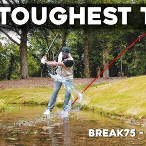 630 YARD PAR 5 - VERY HARD golf course! #Break75 EP12