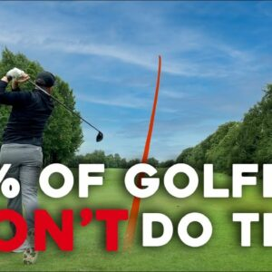 98% of golfers DON'T do this - do it & IMPROVE!