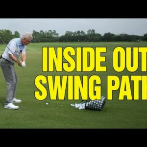 AN EASY WAY TO CREATE AN INSIDE OUT SWING PATH (BEST METHOD)!!