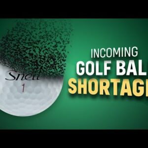 Are we running out of golf balls?