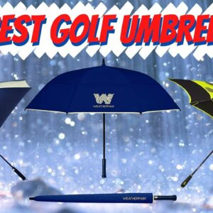 The Best Golf Umbrellas of 2020 | Review of The Top Golf Umbrellas For Rain, Sun and Wind