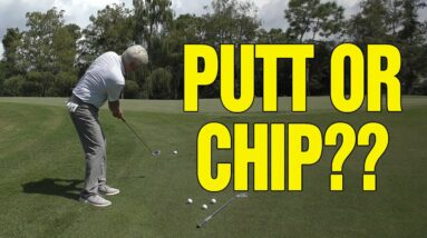 CHIPPING VS. PUTTING FROM OFF THE GREEN