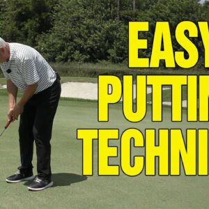 EASIEST PUTTING TECHNIQUE YOU'VE EVER SEEN (COPY THIS)!!