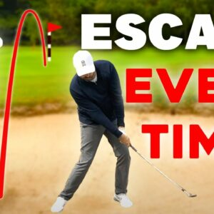 EASY way to escape bunkers EVERY TIME - GUARANTEED