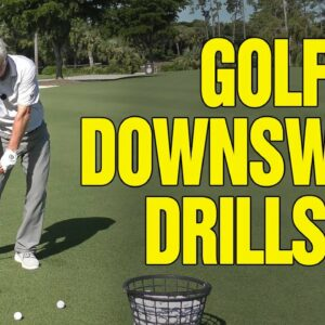 🔥 CORRECT GOLF DOWNSWING SEQUENCE (NEW IMPACT DRILLS)!! 🔥