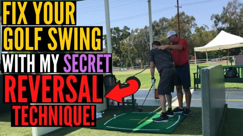 Fix Your Swing EASY with the REVERSAL TECHNIQUE!