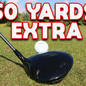 Hit driver 50YARDS FURTHER!!!!