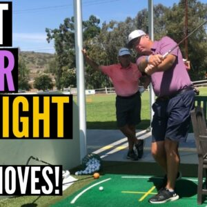 Hitting it LASER STRAIGHT is Easy When You Do THIS!