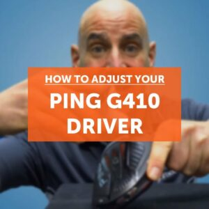 How to adjust your PING G410 driver