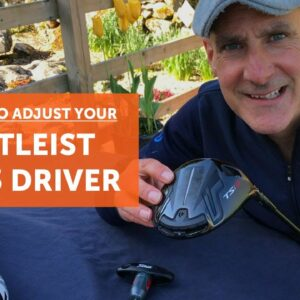How to adjust your Titleist TSi3 driver