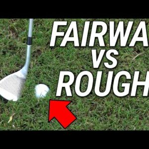 How To Hit Wedges Around The Green | Fairway & Rough