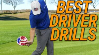 How To Hit Your Best Tee Shots   Simple & Easy Drills