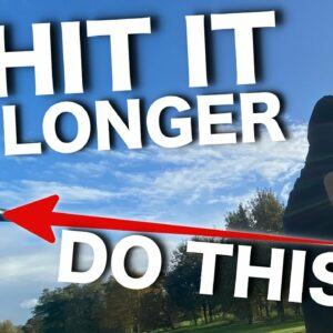 HOW TO HIT YOUR DRIVER LONGER! - Secret to more DISTANCE
