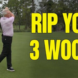 HOW TO RIP YOUR 3 WOOD FROM THE FAIRWAY EVERY TIME!
