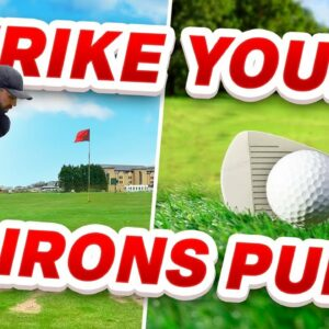 How to STOP hitting bad iron shots - 3 really simple tips