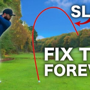 How to: STOP slicing the golf ball | REALLY EASY TIPS