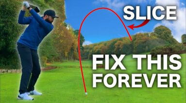 How to: STOP slicing the golf ball   REALLY EASY TIPS