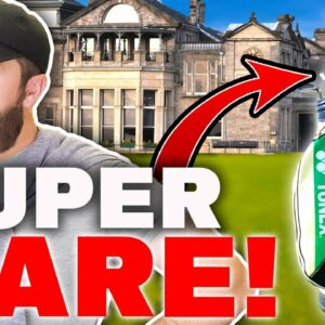 I buy RARE golf clubs in St Andrews - thrift shopping!