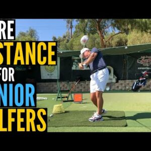 More Distance for SENIOR GOLFERS!  Simple Tips that REALLY WORK!