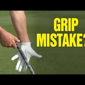 NEVER DO THIS ONE THING WHEN GRIPPING YOUR GOLF CLUB!!