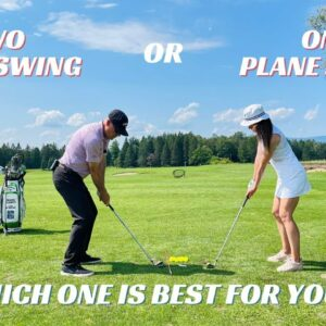 ONE PLANE OR TWO PLANE GOLF SWING-WHICH ONE IS FOR YOU??