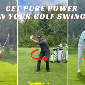 HOW THE LOWER BODY STARTS THE DOWNSWING FOR PURE ROTATIONAL POWER🚀🚀🚀