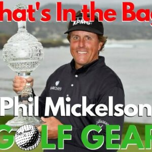 Phil Mickelson - WITB (2019 Pebble Beach Pro Am)