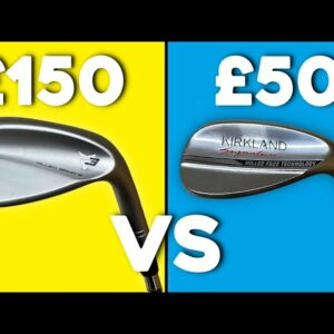 PREMIUM wedge (£150) Vs BUDGET wedge (£50) - NO difference in performance?