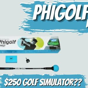Review of PhiGolf | A Deep Dive into the The $250 Golf Simulator