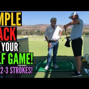 Simple HACK for Your Golf Game - Shoot Lower Scores!