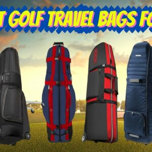 The Best Golf Travel Bags For 2020 | Breaking Down Our Top 7 Golf Travel Cases