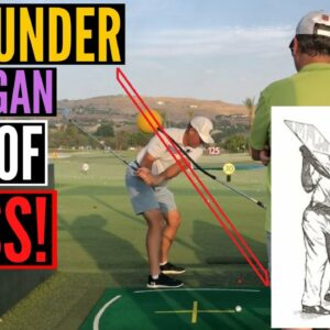 Swing UNDER Hogan's Pane of Glass for PURE SHOTS!