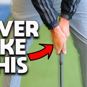 The BIGGEST reason your GRIP is causing your SLICE and how to FIX IT