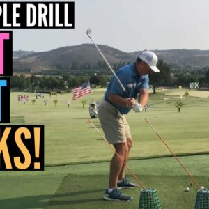 This Simple Drill Just WORKS for Hitting More Fairways and Greens!