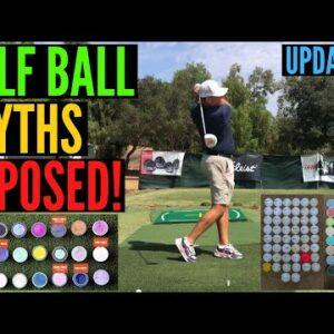 Top Golf Ball MYTHS EXPOSED!!!