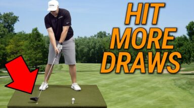 Trick To Swing Your Driver From The INSIDE   Hit POWER DRAWS