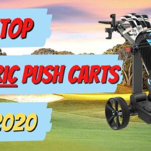 Our Favorite Electric Golf Push Carts For 2020 | Breaking Down The Best Electric Push Carts For 2020