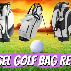 Review of The Vessel Luxury Golf Bag Line | We Dive Deep Into The Golf Bag Options from Vessel