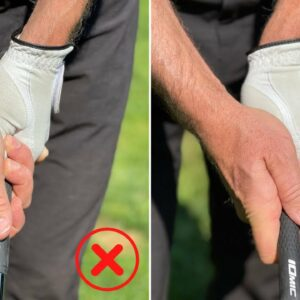 WHY YOUR GRIP IS KILLING YOUR GOLF SWING!! HOW TO FIX IT NOW!!