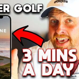 Can you REALLY improve your golf in ONLY 3 minutes a day - Imagine Golf App review