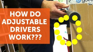 How adjustable golf clubs work AND how they can improve your golf [Driver Mini Series EP4]