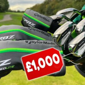I bought the £1,000 TaylorMade golf package set!
