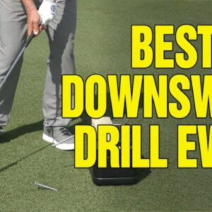ONE SIMPLE DOWNSWING DRILL (GAME CHANGER)!!