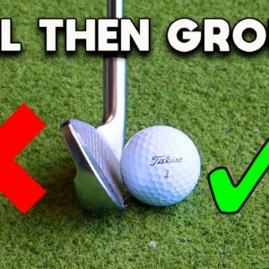 STOP hitting BEHIND the golf ball - You NEED to watch this!!