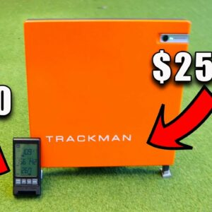 The new PRGR launch monitor - It can do something TRACKMAN can't!!